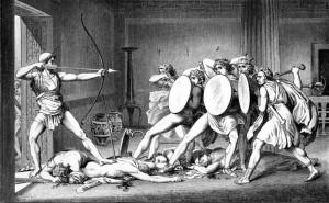 Odysseus en de vrijers